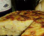 Omelete Espanhola + Pão tipo Galego